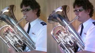 Timepiece-Euphonium Duet-Multitrack