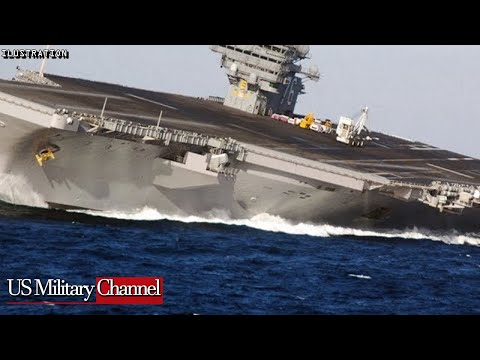 US Navy Releases Crazy Video Of USS Gerald R. Ford Conduct High-Speed Turns And Activity Crew Member