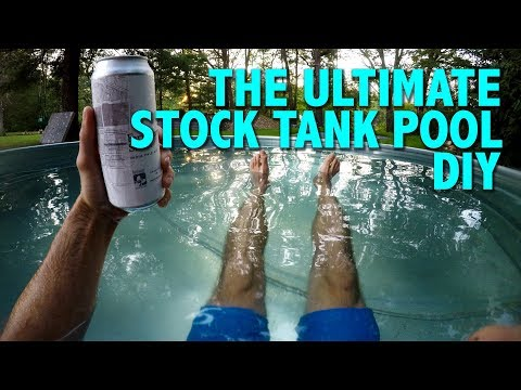 The Ultimate Stock Tank Pool DIY