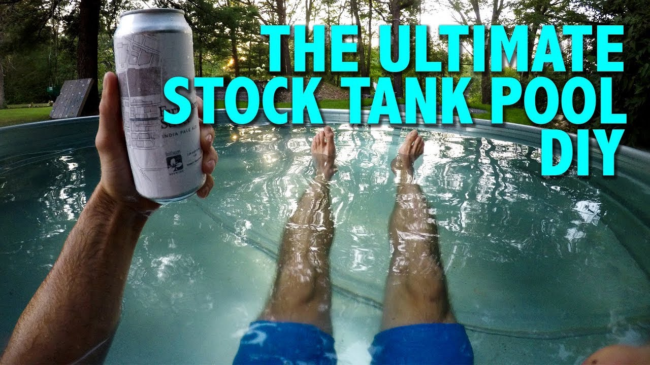 Ultimate Summer Diy Projects: How To Build A Stock Tank Pool