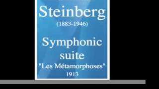 Maximilian Steinberg (1883-1946) : Les Métamorphoses, symphonic suite (1913) **MUST HEAR**