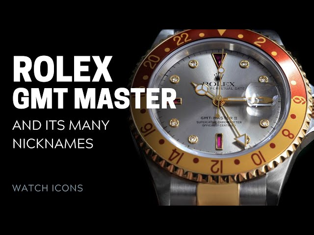 Rolex GMT-Master's Many Names | SwissWatchExpo [Rolex Watches]