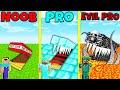Minecraft Battle: NOOB vs PRO vs EVIL PRO: HIDDEN TRAP BUILD CHALLENGE / Animation