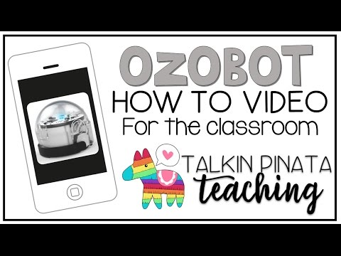 Ozobots How to Video for the Classroom