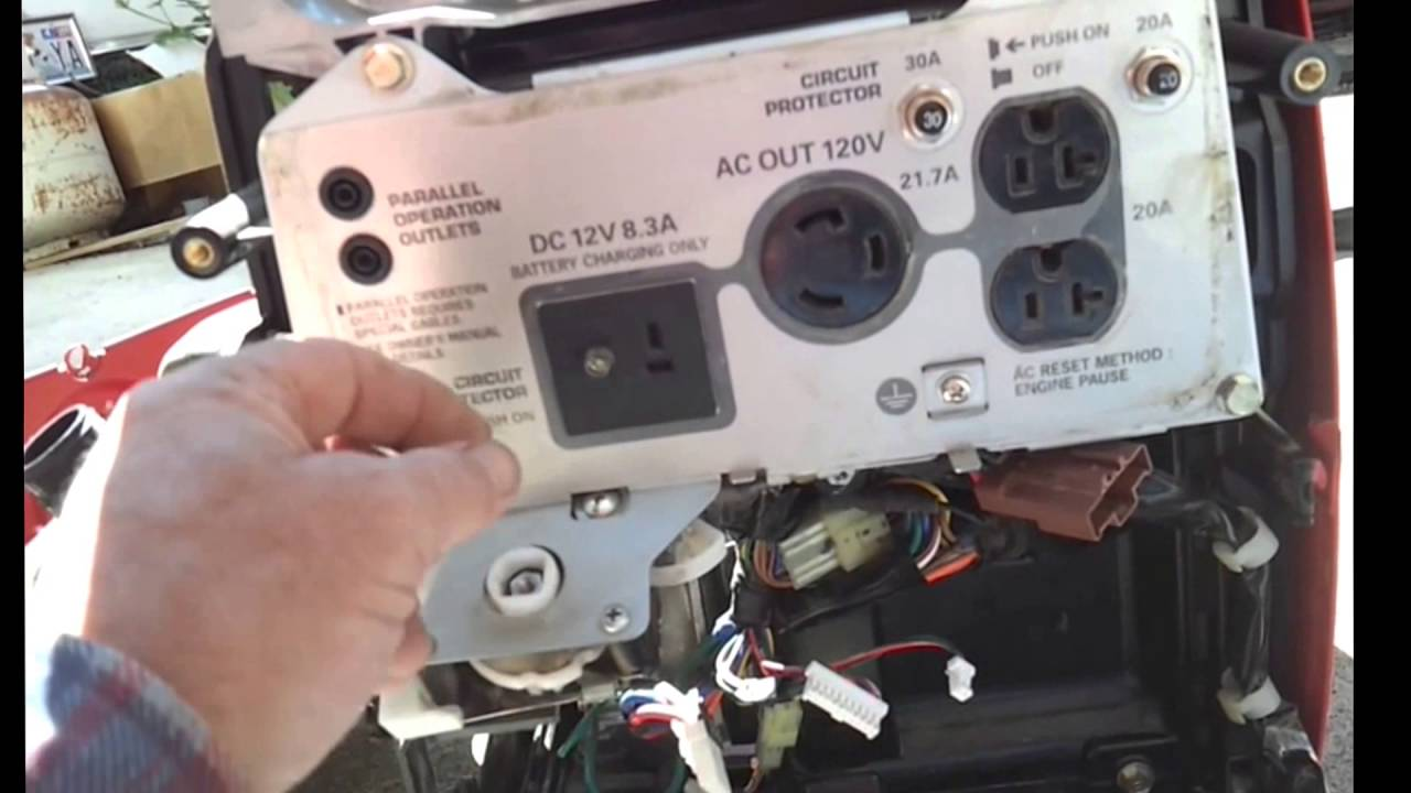 hight resolution of honda eu3000i handi low idle low power overloads solved youtubehonda eu3000i handi