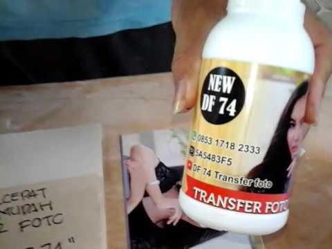Cara Cepat Transfer Foto Ke Kayu With Df 74 Info Produk Wa Imo 085317182333 Youtube