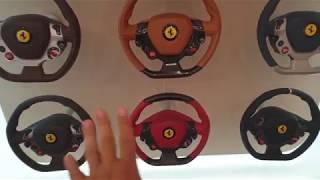 Ferrari Configurator Room Review in Showroom