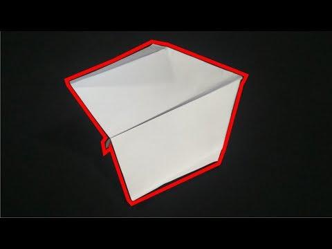 Cara membuat Pesawat Kertas yang Terbang Jauh 100+ M - Pesawat kertas TERBAIK untuk Akurasi