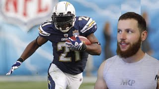 Rugby Player Reacts to LADAINIAN TOMLINSON #61 The Top 100 NFL's Greatest Players!