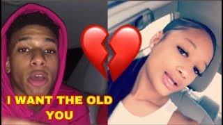 NLE CHOPPA AND HIS GIRLFRIEND BREAK UP BECAUSE SHE DOSENT WANT TO CHANGE