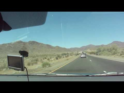 Driving from vegas to LA