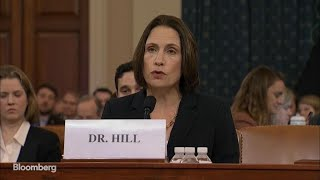 Fiona Hill, During Impeachment Hearing, Says Falsehoods Serve Russia Interests
