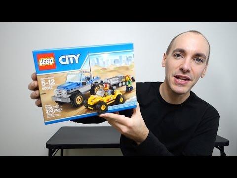 Unbox & Build: LEGO City 60082 Dune Buggy Trailer   brickitect