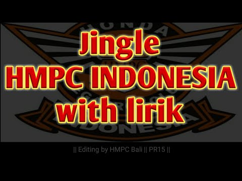 Jingle hmpc indonesia || with lirik || HMPC Bali
