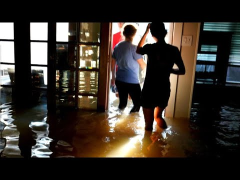 "Rick Perry: Climate change ""secondary"" to Harvey rescue process"