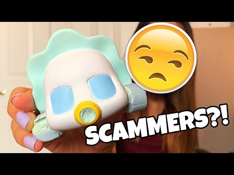 😭SCAMMERS?! Types of Squishy Sellers!!