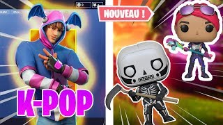 "HOW TO THE SECRET SKIN ""K-POP"" ON FORTNITE!😱"
