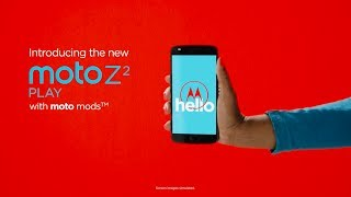 Moto Z2 Play ทลายข้อจำกัดสมาร์ทโฟน แค่ One Snap