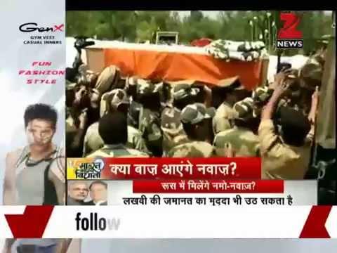 Pakistan violates ceasefire in J&K, one BSF jawan killed