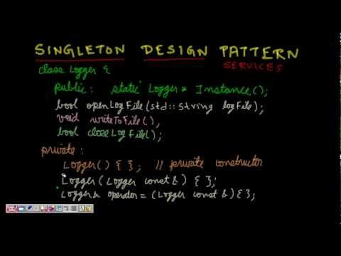 Programming Interview: Singleton Design pattern (Singleton Class C++)