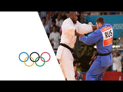 Teddy Riner Wins Men's Judo +100 kg Gold – London 2012 Olympics