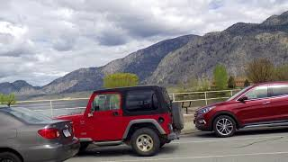 Osoyoos BC Canada - Driving in Resort Desert Town - Tour of Wine Heaven