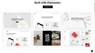 Bifrost - Simple Portfolio WordPress Theme Shirou Ward