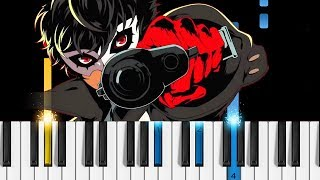 Persona 5 The Animation Op Break In to Break Out - EASY Piano Tutorial.mp3