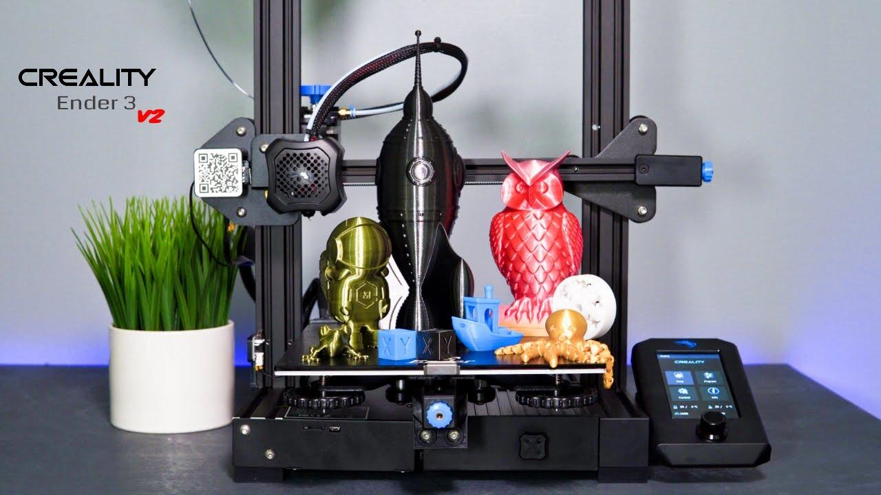 Download Creality Ender 3 V2 - 3D Printer - Unbox & Setup