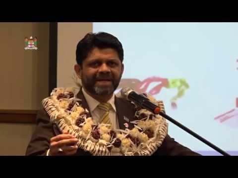Fijian Attorney-General officiates at the launch of Post Fiji E-Commerce platform