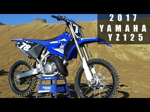 First Ride 2017 Yamaha YZ125 - Motocross Action Magazine