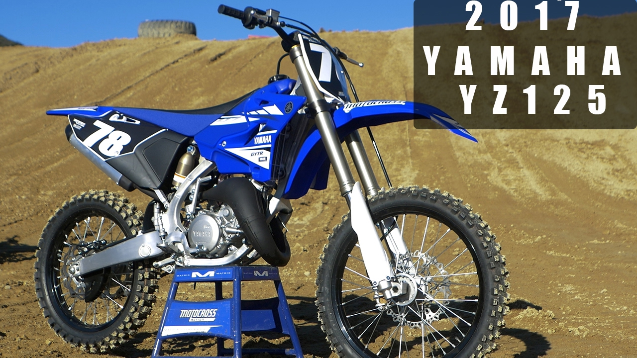 first ride 2017 yamaha yz125 motocross action magazine. Black Bedroom Furniture Sets. Home Design Ideas