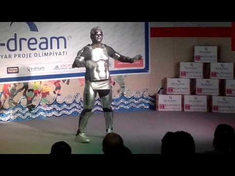 Robot Dancer Show  Robot Adam Gsterisi ,  робот танцор,  Roboter Tnzer, Robot dancer