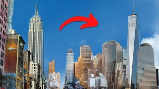 ⁴ᴷ Walking from the Empire State Building to the World Trade Center in NYC
