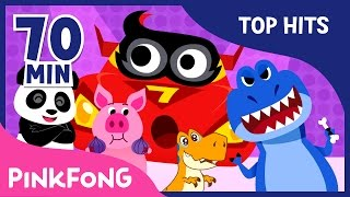 The Best Songs of Jan & Feb 2017 | Dinosaur Musical and More | Pinkfong Songs for Children