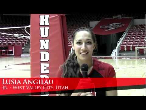 2012 SUU Volleyball Profiles - Lusia Angilau