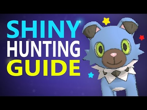 FULL S.O.S. Shiny Hunting Guide! How to Catch Shiny Pokemon in Sun and Moon With Ease!