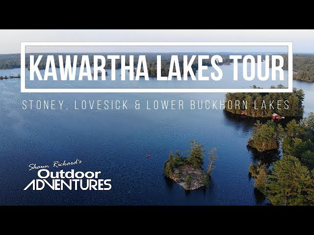 Tour of The Kawartha Lakes, Ontario, Canada | Stoney Lake, Lovesick Lake & Buckhorn Lake
