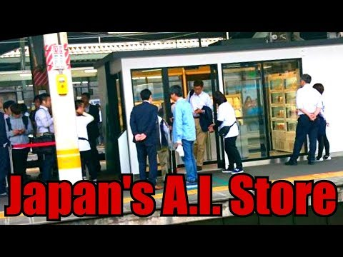 Japan's A.I. Store of the Future