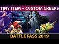 Tiny Prestige Item and Custom Creeps - FULL PREVIEW - The International 2019 Battle Pass TI9 - Dota2