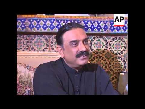 AP exclusive interview with husband of slain leader