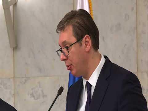 Aleksandar Vučić i Sergej Lavrov 22.02.2018.