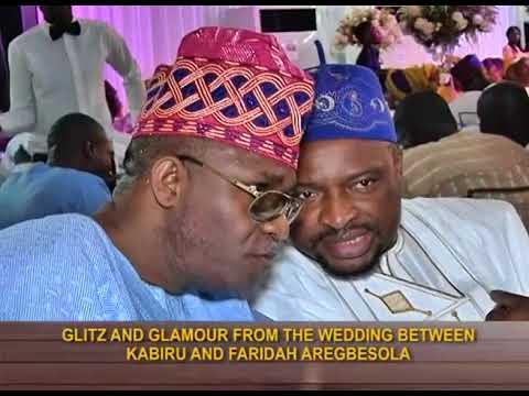 Events Diary | Glitz and Glamour at the wedding between Kabiru and Faridah Aregbesola