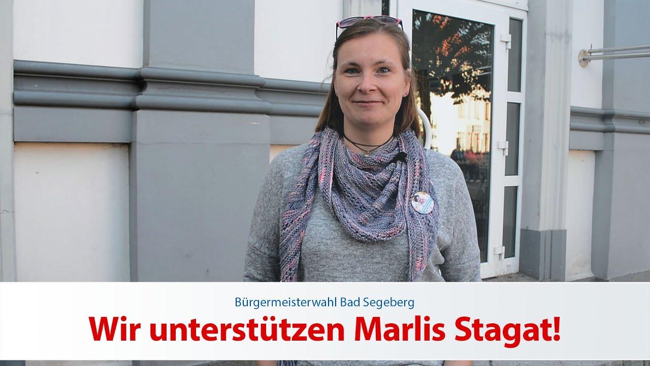 Ann-Christin Knuth unterstützt Marlis Stagat