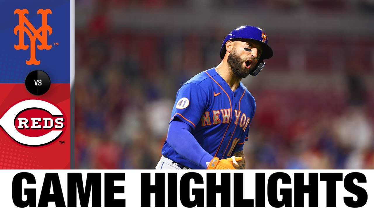 Download Mets vs. Reds Game Highlights (7/19/21) | MLB Highlights