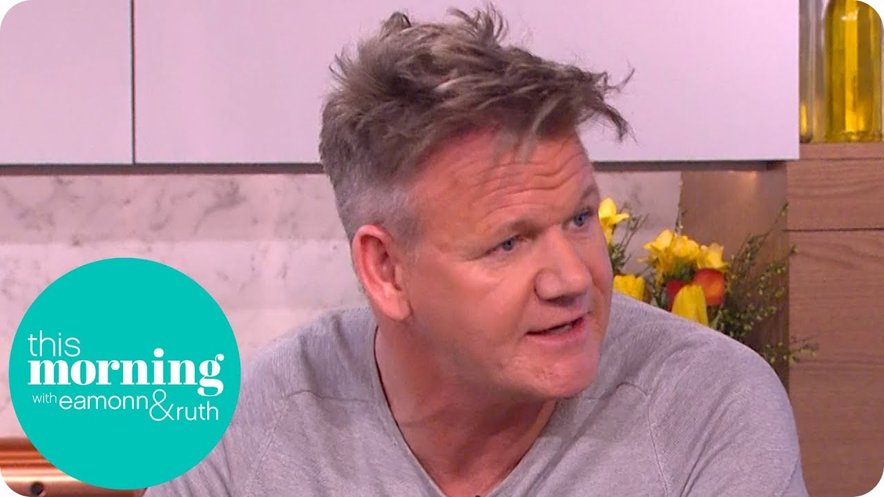 gordon ramsay reveals the reason behind his healthy lifestyle this
