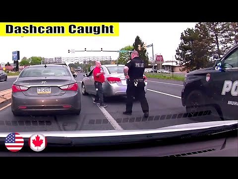 Ultimate North American Cars Driving Fails Compilation - 172 [Dash Cam Caught Video]
