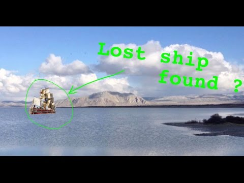 Missing ship, The Monaco, spotted on Lake Lahontan, ghost ship of the Black Rock Desert?