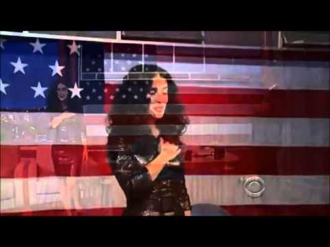 Salma Hayek Canta Himno Nacional Mexicano Y El De USA