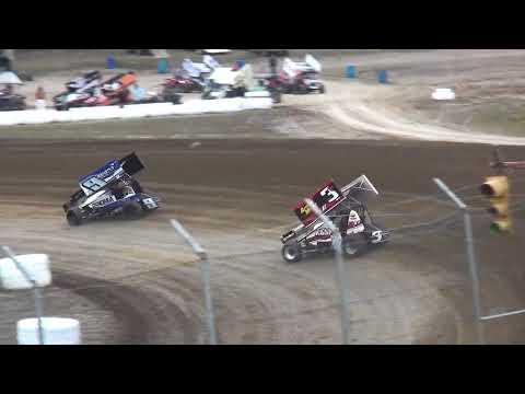 Sprint Invaders Heat 1 34 Raceway 3/31/18